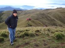 Mt. Pulag, highest peak in Luzon (Photo c/o JR)